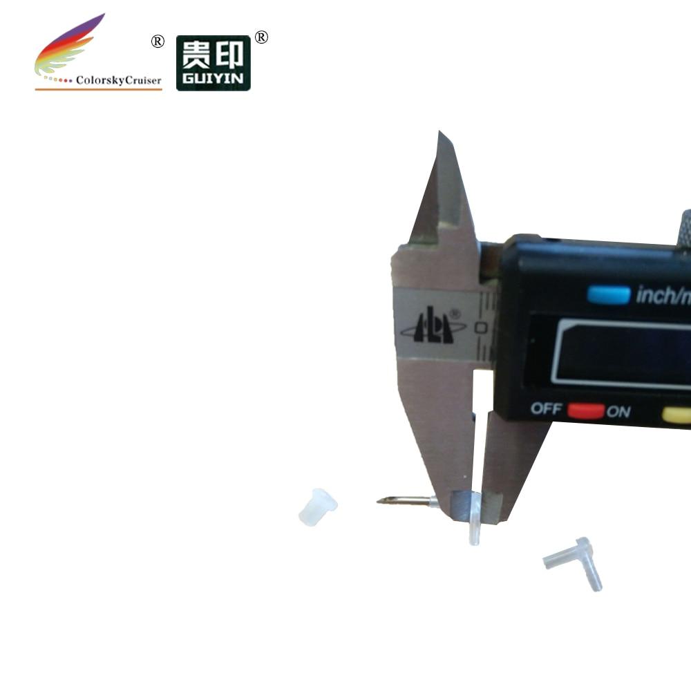 ACC-40) трубопровод стрелка Локоть разъем для СНПЧ с острым металла иглы 100 шт./лот