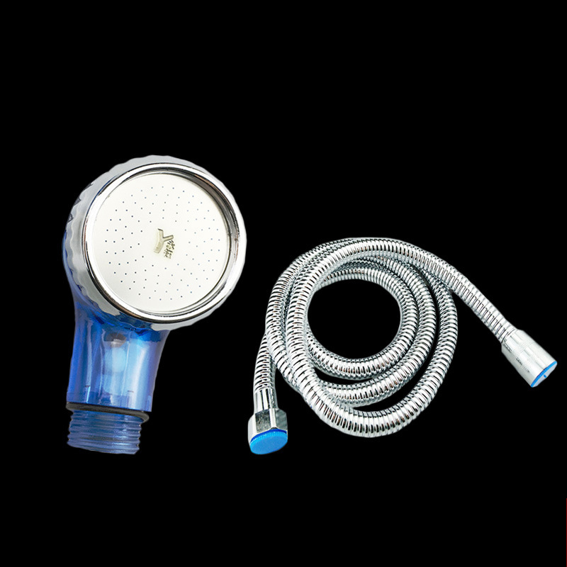 Plastic Handheld Showerhead Wash Hair High Pressure Shower Head Hand Laser Ball Shower Head Water Filter Shower Head Basin