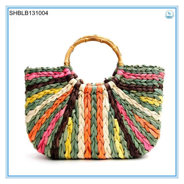 2014 Best Selling Straw Beach Bag--Dropshipping service-skype:hnkfliu