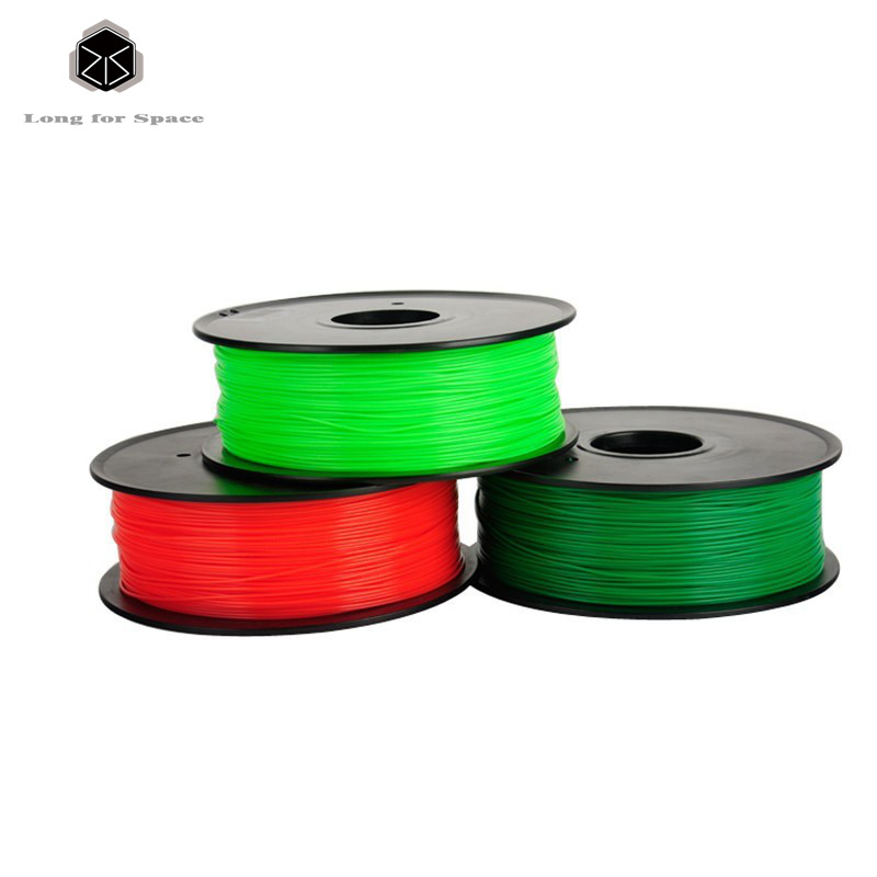 3D printer filament ABS 1.75mm / 3mm plast gummi forbrugsstoffer - Kontorelektronik - Foto 4