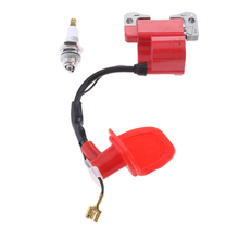 Performance Red Ignition Coil with Spark Plug for 2-Stroke 47cc 49cc Mini Quad Pocket Dirt Bike ATV 2-Stroke Engine Part gait and balance performance in stroke survivors