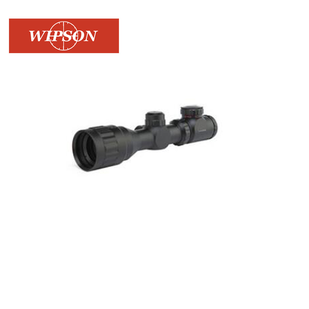 WIPSON 2-6X32 Adjustable Hunting Green Red Dot Illuminated Tactical Riflescope Reticle Optical Sight Scope For Shotgun Riflescop