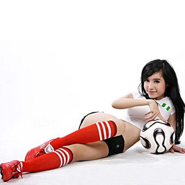 asian soccer playing Sexy girls