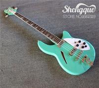 Free Shipping Custom Shop Rickenback Electric Guitar Ricken 325 2 Pickups 4 String Electric Guitar