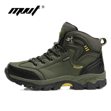 2018 Winter Men Outdoor Hiking Shoes Autumn Hiking Boots Winter Climbing Shoes Men Sneakers Breathable Trekking Shoes clorts hiking shoes for men outdoor hiking boots high top waterproof trekking shoes male breathable climbing shoes hkm 823a b f
