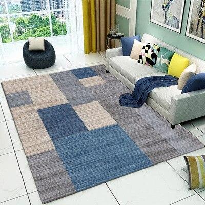 Salon Tapis Surface Solide Tapis Moelleux Doux décoration d'intérieur Blanc tapis en peluche tapis de chambre tapis de cuisine Blanc Tapis Tapete - 2