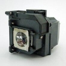 цена на Replacement Projector Lamp ELPLP71  For  EPSON  PowerLite 470/PowerLite 475W/PowerLite 480/PowerLite 485W/EB-480Ec