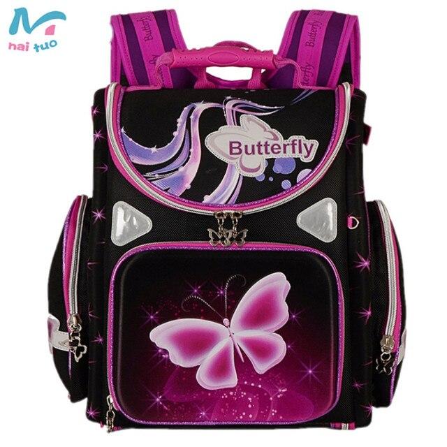 3709da227a Naituo Orthopedic Backpacks Children School Bag