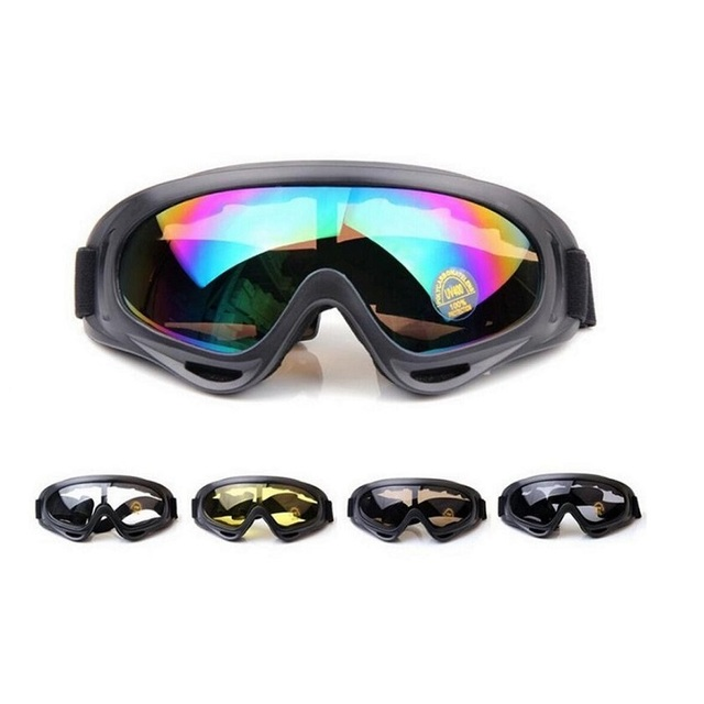 1c70d8d120 VILEAD Snowboard Glass Skiing Transparent Goggles for Men Women UV400  Windproof Sunglasses Airsoft Waterproof Anti-