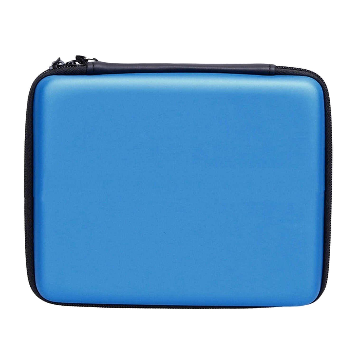 Portable Hard Shell Anti-shock Pelindung Penyimpanan Travel Hand Bag Case Holder dengan Carrying Strap untuk Nintendo 2DS Konsol Biru-Intl