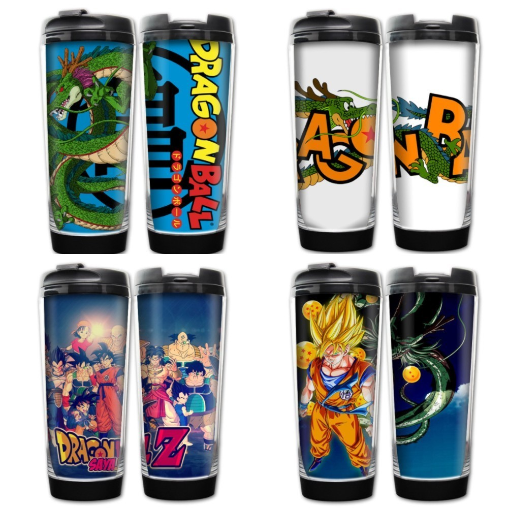Комиксов Dragon Ball Саян теплоизоляция Вакуумная чашка Гоку/Kuririn/Gotenks/Uranai Нерж ...
