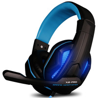 Auriculares Computer Game Earphone Headphone Lights Stereo Gaming Headset For PC Gamer Ecouteur Glow Headphones Mic