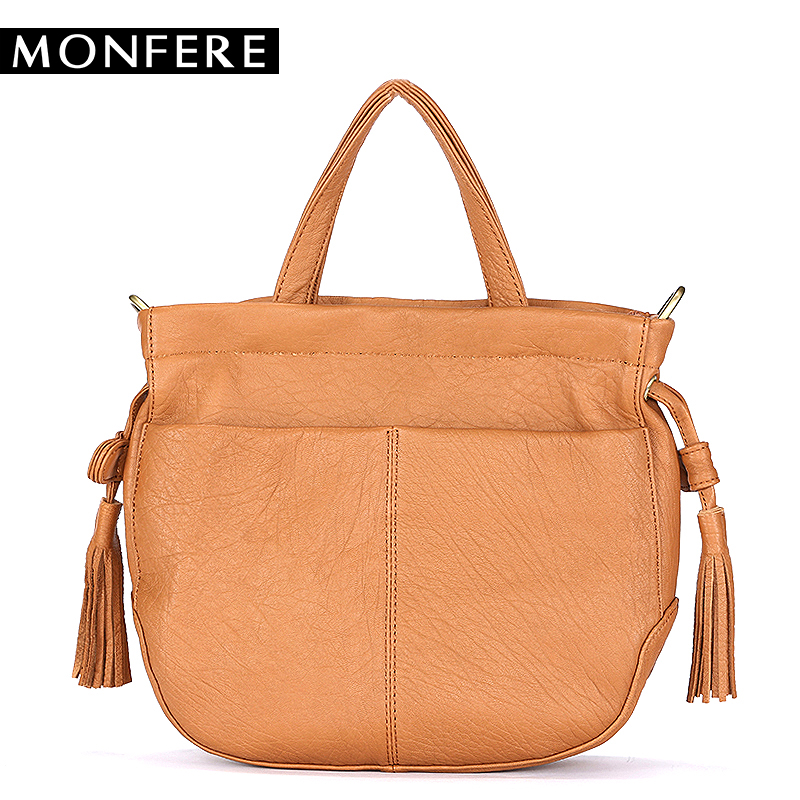MONFER Brand Fashion Female Shoulder Bag Cow Leather women handbag Vintage Messenger Bag Flat Female Top-handle Crossbody Bags 2017 120cm diy metal purse chain strap handle bag accessories shoulder crossbody bag handbag replacement fashion long chains new
