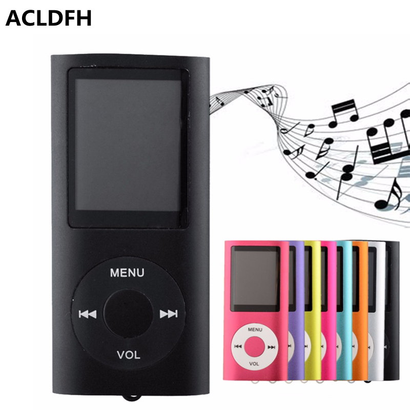 ACLDFH Mp 3 Lettore Mp3-Player Lcd-Bildschirm-Musik-Musica-Clip-Reproductor-Kind-Speler-Zusatz-USB-Digital-Sport führte MP3-Player-Audio