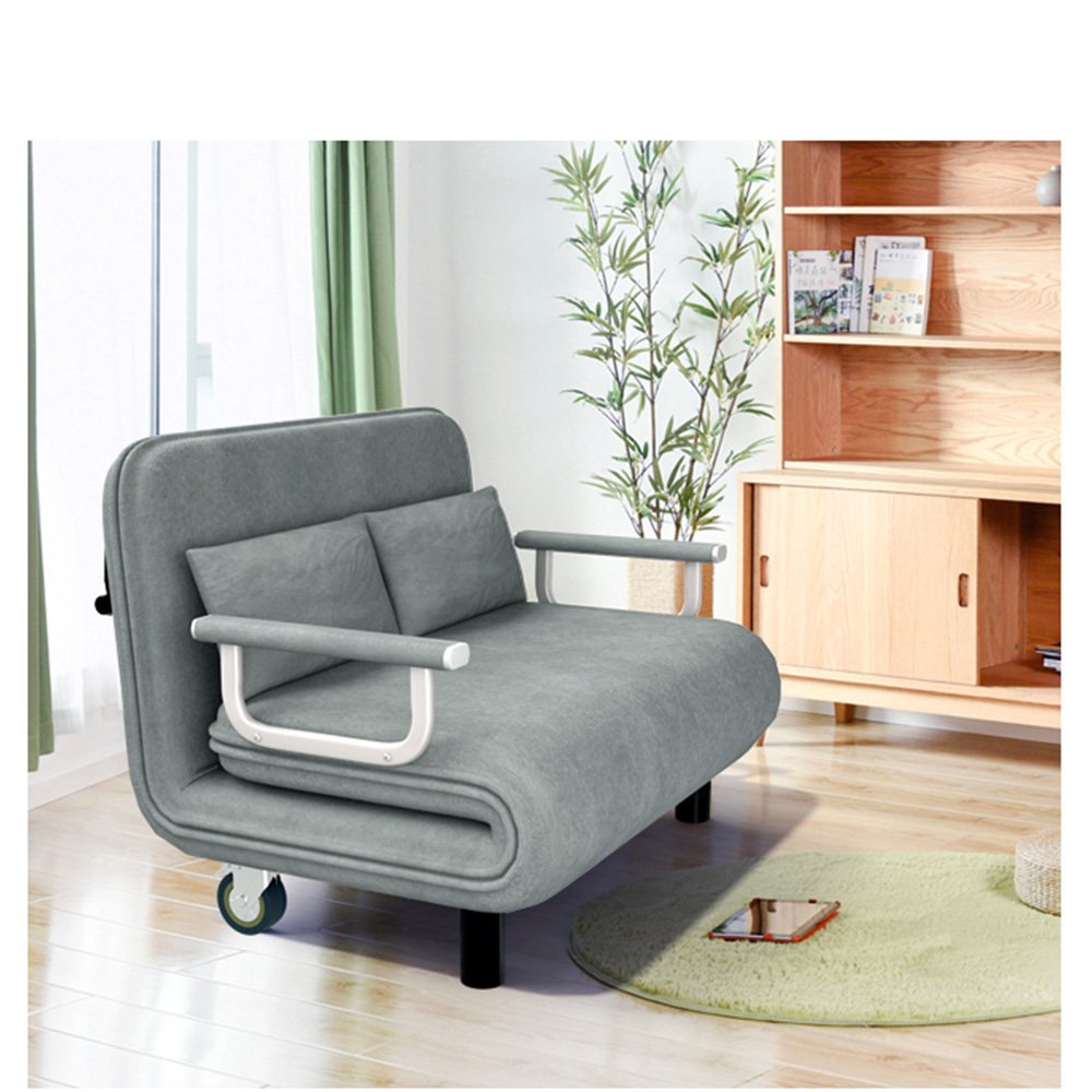 2018 Sofa Bed Folding Daybed   Modern Foldable Couch Sofa With Reclining Home Living Room Furniture Sleeping
