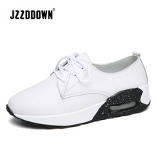 Jzzddown Genuine Leather Lace Up women sneakers (China)