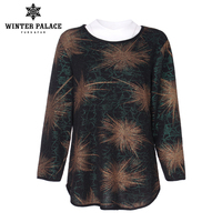 Casual t shirt women t shirt women tops camisetas mujer 2017 long sleeve t shirt women Three Quarter O Neck Elastic cotton