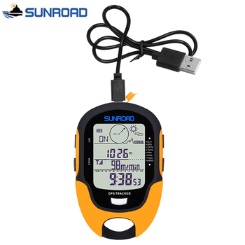 SUNROAD Pocket Watch Women Men Digital LCD Altimeter Barometer Compass Thermometer reloj gps Flashlight Clock USB Rechargeable sunroad fx712b digital fishing barometer watch w altimeter thermometer weather forecast time