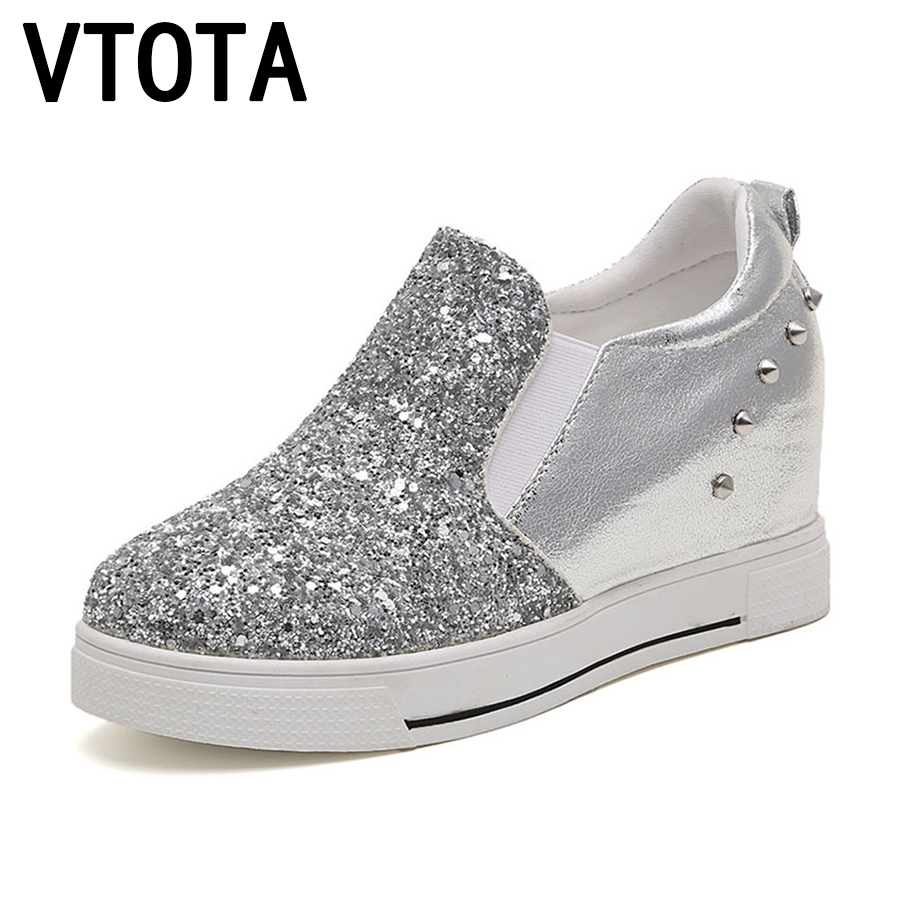 VTOTA Women Casual Platform Shoes 2017 High Heels Shoes ...