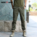 Straight Design Summer Men's Fashion Army Pants Solid Green Special Anti-inset feature Detachable leg trousers MK-7180A