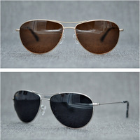 Cubojue Brand Aviation Sunglasses Men Nylon Lens Anti Explosion TAC Sun Glasses for Man Driving Sports Black Blue Mirrored Frog
