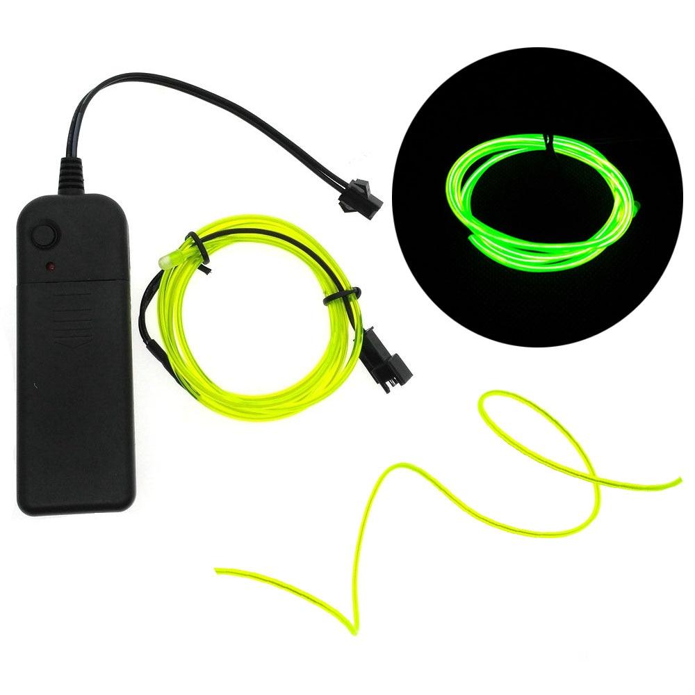 """""""Wild Wire"""" 3M Neon Light Flexible Wire 1"""