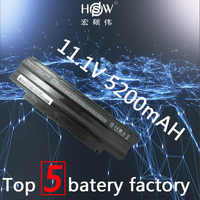 HSW 5200mAh batterie d'ordinateur portable j1knd pour Dell Inspiron M501 M501R M511R N3010 N3110 N4010 N4050 N4110 N5010 N5010D N5110 N7010 N7110