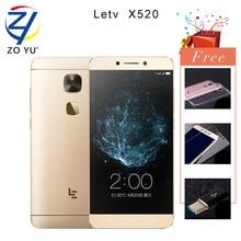 Letv LeEco Le2 Le 2X520 Snapdragon 652 4G Smartphone Portable Octa Core 5.5HD 3G + 32G 16.0MP 3000 mAh D'empreintes Digitales ID Téléphone Portable