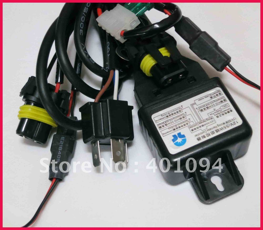 30pcs12V 55W H4 3 HB2 9003 Bi xenon High Low Hi Lo HID Xenon Bulbs Headlight aliexpress com buy 30pcs12v 55w h4 3 hb2 9003 bi xenon high low HID Headlight Wiring Diagram at honlapkeszites.co
