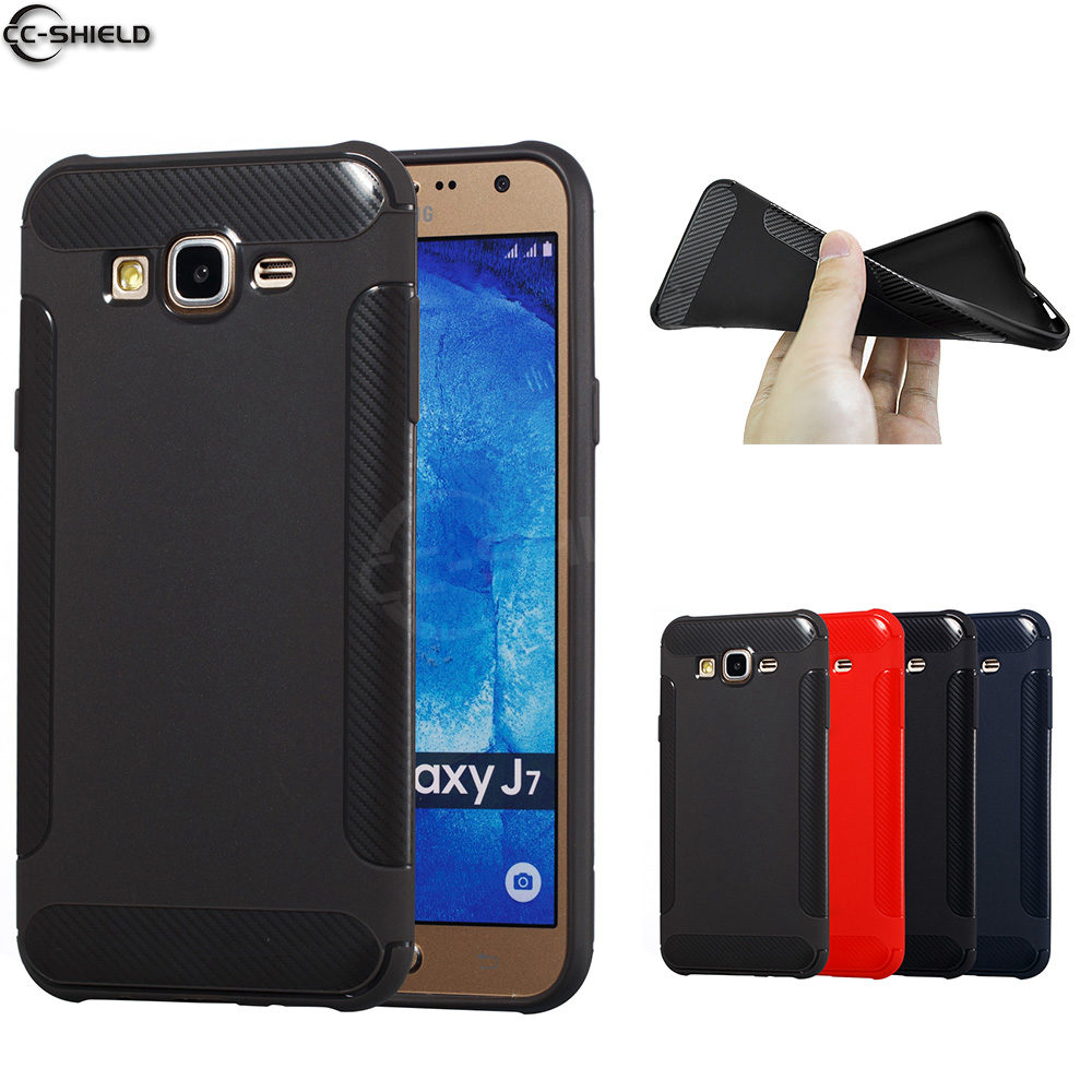Fitted Case for Samsung Galaxy J7 2015 J700H J700H/DS Silicone Case Phone Cover for Samsung J 7 2015 SM J700H/DS SM J700H Capa-in Flip Cases from ...