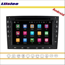 Liislee Car Android Multimedia For Renault Megane II 2003~2010 Car Stereo Radio CD DVD Player GPS Nav Navi Map Navigation System