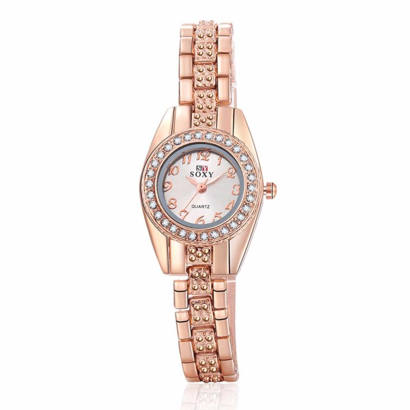 Watch Women Clock Stainless Steel Classic Band Analog Quartz Fashion Ladies Dress Wrist Watch Temperament Hot Selling Gift M5 hot selling stainless steel watch women