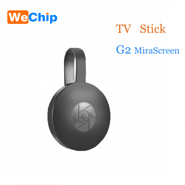 WeChip Wireless MiraScreen G2/G5/L3/L8M/X6L TV Stick 2.4G HDMI 1080P HD TV Dongle Plug And Play Chrome  Google  airplay miracase
