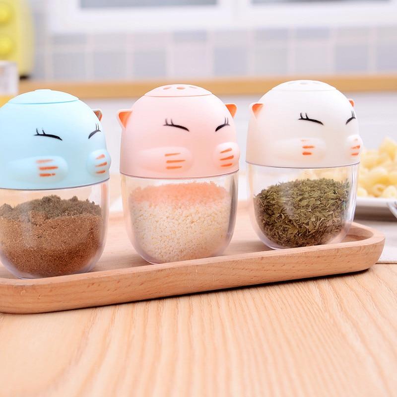 Toothpick-Container Seasoning-Box Vinegar-Bottle Spice-Jar Salt Sugar Kitchen-Organizer