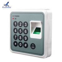 Realhelp USB Communicate Biometric Access control  Fingerprint With 125KHZ EM Card Door Lock Password System RFID Reader
