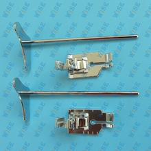 2PCS 1 4 Metal Patchwork Quilting Foot Singer Brother Kenmore low shank with Guide CY 7312LQ3