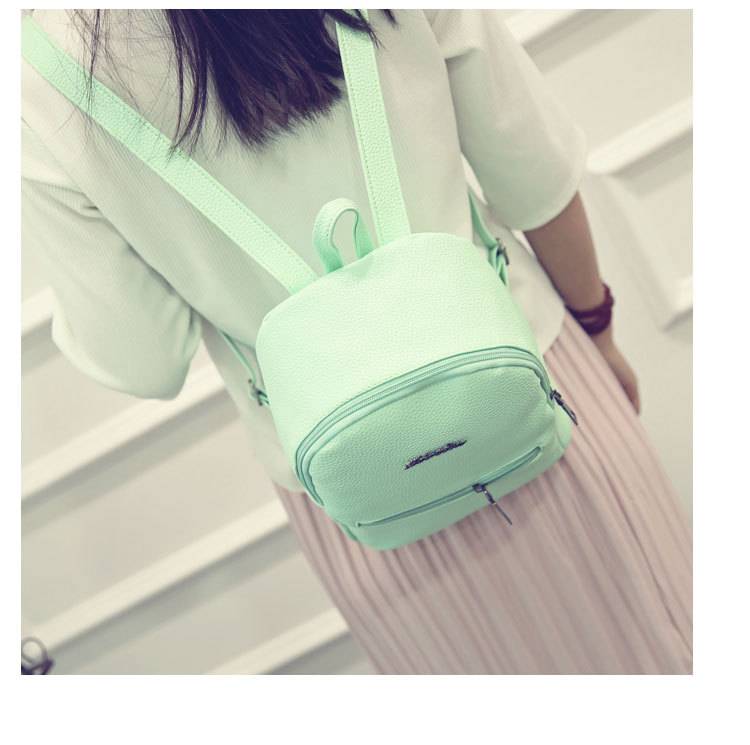 HTB1VZbvkiMnBKNjSZFoq6zOSFXad 2019 New Backpack Summer Small Women Backpack Candy Color Student Travel Shoulder Bags Teenager Girls Female Mochila Bagpack