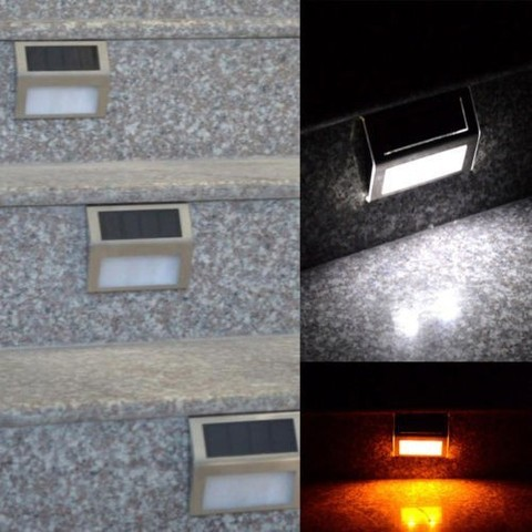 10 pcs lote mini led solar luz ao ar livre solar luzes frio warm white