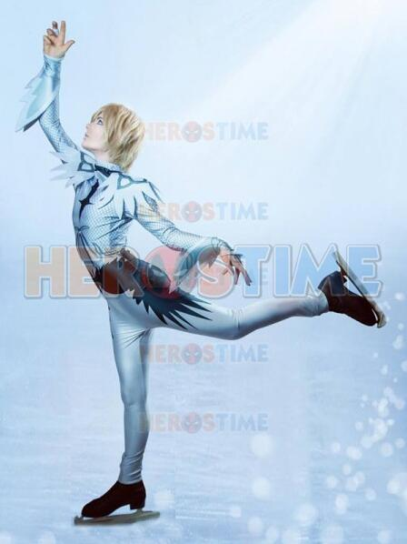 Yuri On Ice Dye-sub Printing Cosplay Catsuit Zentai Suit Custom Made