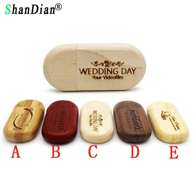 SHANDIAN (OVER 10 PCS free LOGO) maple Wood usb Flash Drive pendrive 4gb 8gb 16gb 32gb Pen Drive 64gb wediing personal Gifts 10 pcs usb 2 0 8gb metal memoire flash drive stick win 7 10 pc deep blue