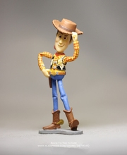 Disney Toy Story 3 Woody Q versión 10 cm PVC figuras de acción mini Dolls  niños juguetes modelo para los niños regalo bfaf80bb021