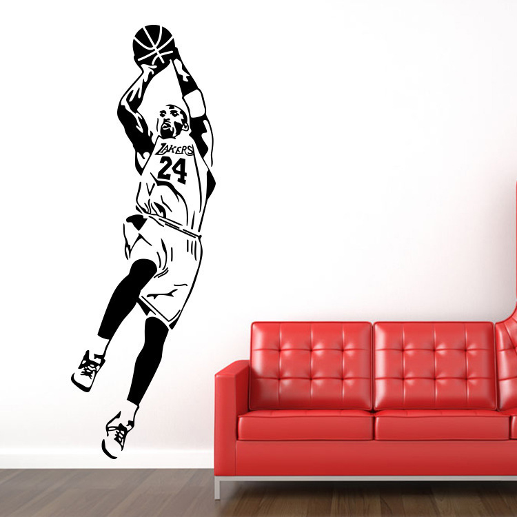 Home Decor Basketball Player Kyrie Irving Vinyl Wall Stickers Art Home Decor Fan Gifts