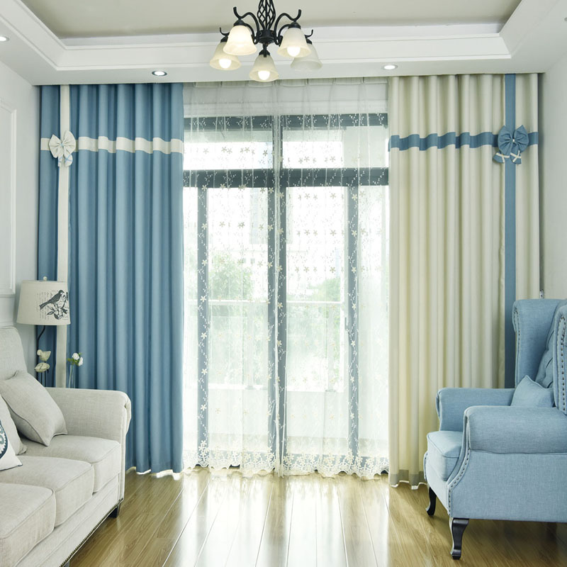 US $27.5 50% OFF|2 Pieces Cotton Linen Curtain for Bedroom Modern Living  Room Curtains for window Kitchen Cortinas Fabric Window Curtains Drapes-in  ...