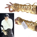 MJ Michael Jackson ultimate collection Golden Black and white ArmBrace Glove Punk Shows Imitation - EXACT SAME