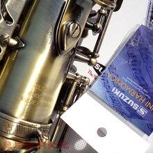 Лидер продаж Высококачественные Suzuki альтсаксофон бемоль альтсаксофон музыкальный инструмент античная медь sax