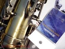 Hot High-quality Suzuki alto saxophone E flat alto saxophone musical instrument Antique copper sax free shipping