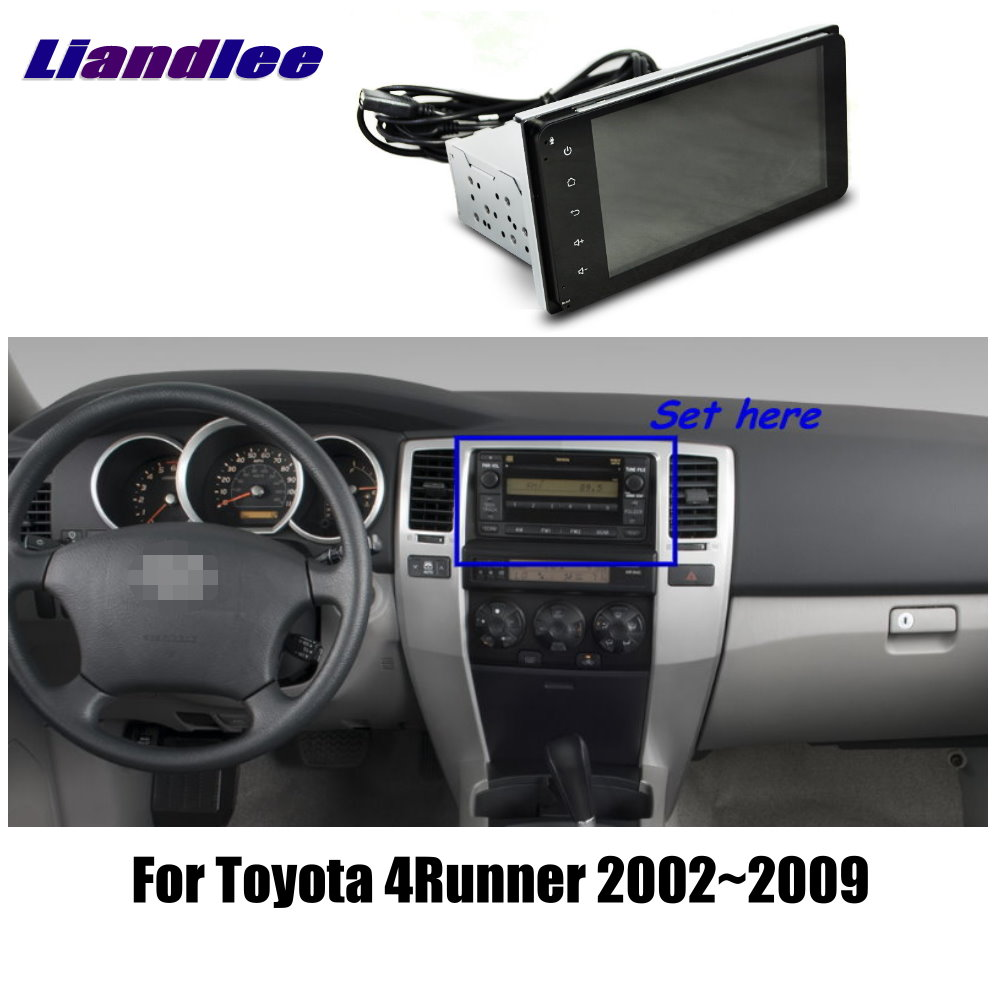Per Toyota 4Runner 2002 2003 2007 2008 2009 Car Stereo Radio Multimediale Android Schermo di Tocco di HD Visualizzatore GPS sistema di navigazione
