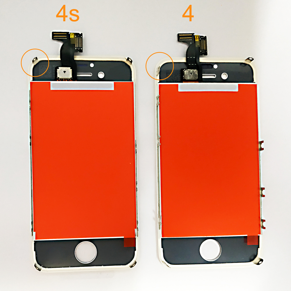 AAA Quality LCD  4s 4  5  Display Touch Screen Digitizer Assembly For iPhone 5 5c 5s SE LCD