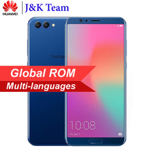 Huawei Onur V10 6 GB 64 GB Küresel Rom Görünüm 10 Smartphone Kirin 970 Octa Çekirdek OTA NFC 5.99 ''1080x2160 P EMUI Android 8.0...