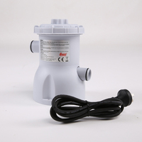 1set 220V 20W Electric Swimming Pool Filter Pump Water Cleaning Filter Pumps For Above Ground Pools Cleaning Tool Mayitr
